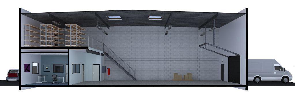 Entrepôt à vendre - 215.0 m2 - 45 - Loiret